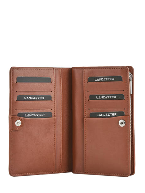Wallet Leather Lancaster Brown parisienne 171-06 other view 1