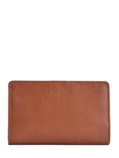 Wallet Leather Lancaster Brown parisienne 171-06