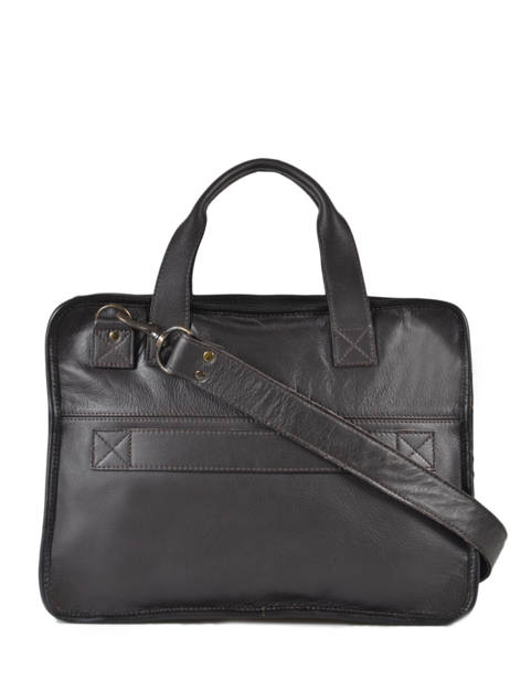 Briefcase Paul marius Brown vintage CONQUERA other view 3