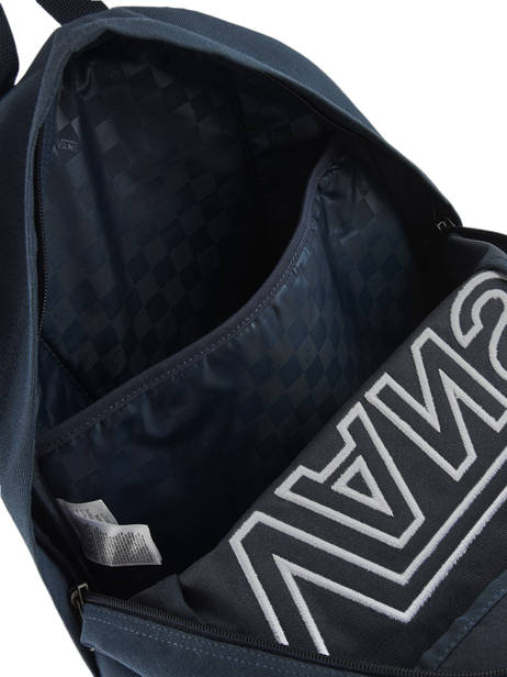 Sac à Dos 1 Compartiment + Pc 15'' Vans Bleu backpack men VN0A3I6R vue secondaire 4