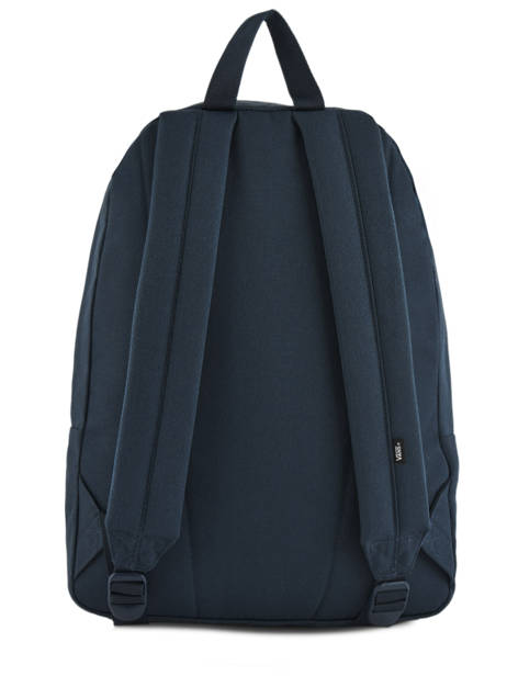Sac à Dos 1 Compartiment + Pc 15'' Vans Bleu backpack men VN0A3I6R vue secondaire 3