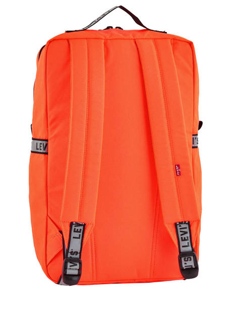 Backpack 1 Compartment + 15'' Pc Levi's Orange l pack 230809 other view 3