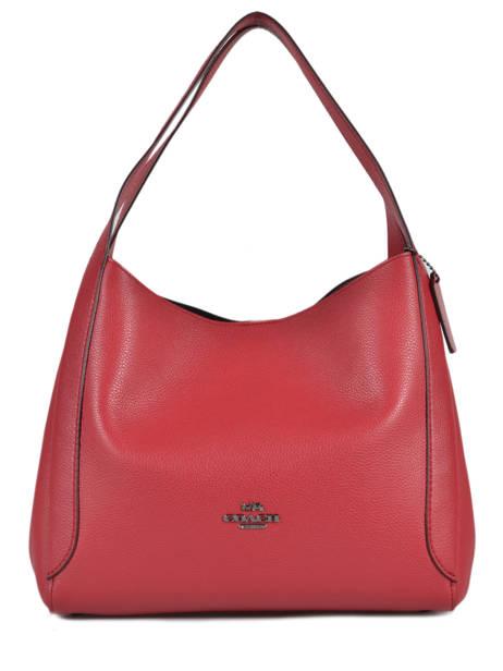 Large Leather Hadley Hobo Bag Coach hadley 73549