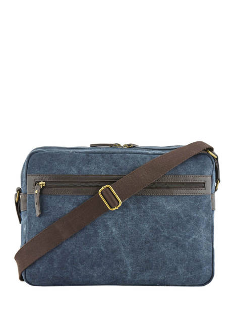 Messenger Bag Harbor 2 Compartments Etrier Blue harbor EHAR05 other view 3