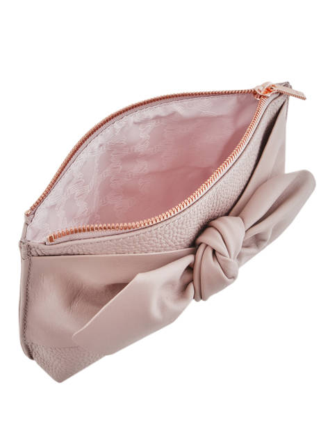 Trousse Soft Knot Cuir Ted baker Rose soft knot MILAH vue secondaire 3