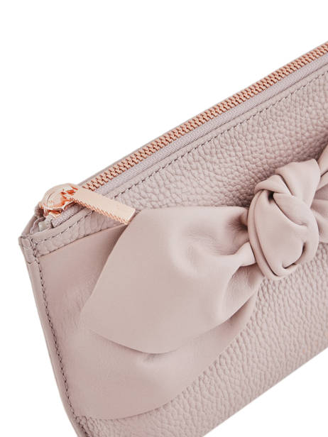 Trousse Soft Knot Cuir Ted baker Rose soft knot MILAH vue secondaire 1
