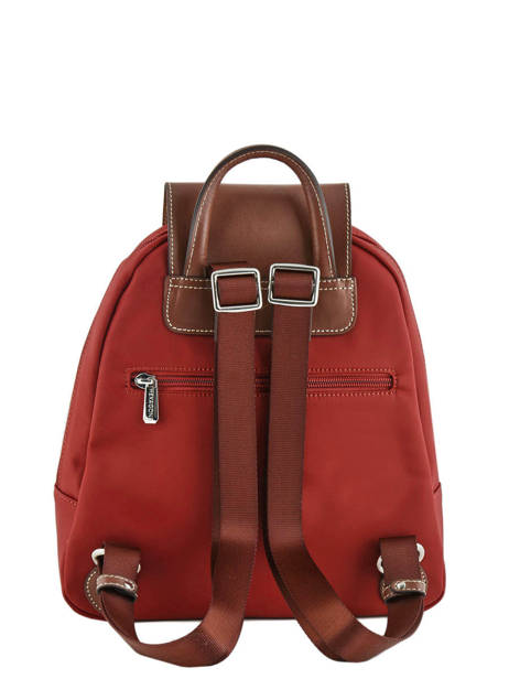 Backpack Hexagona Red pop 171246 other view 3