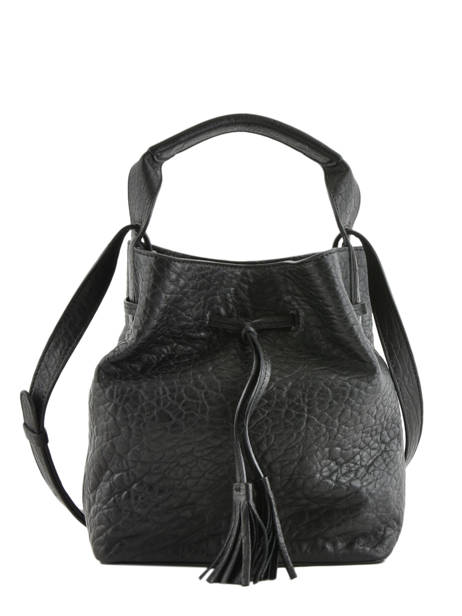 Sac Bourse Mini Saxo Bubble Cuir Gerard darel Noir bubble DKS17403