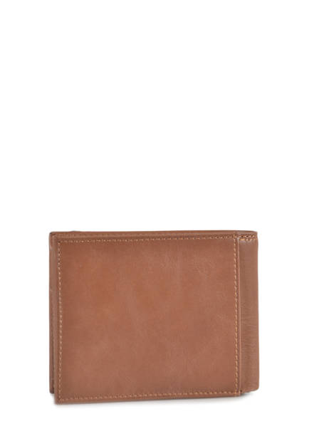 Leather Wallet Mykonos Serge blanco Brown mykonos MYT21044 other view 3