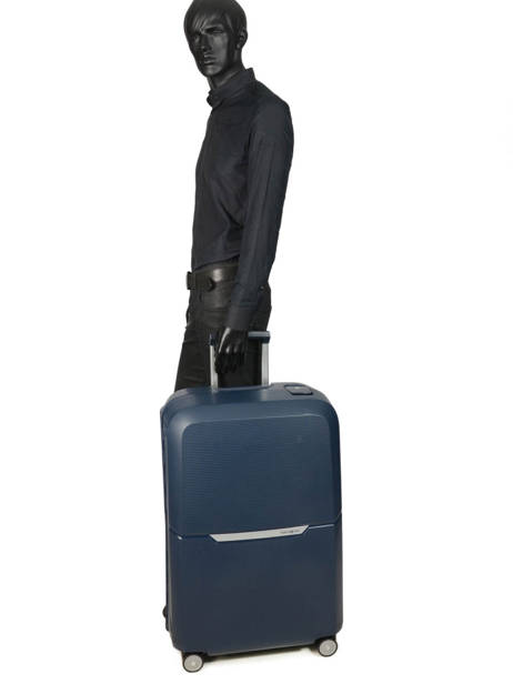 Hardside Luggage Magnum Samsonite Blue magnum CK6003 other view 3