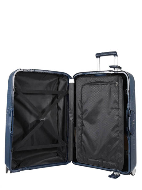 Hardside Luggage Magnum Samsonite Blue magnum CK6003 other view 5