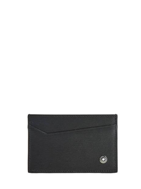 Leather Card Holder 4810 Westside 2cc Montblanc Black westside 116385