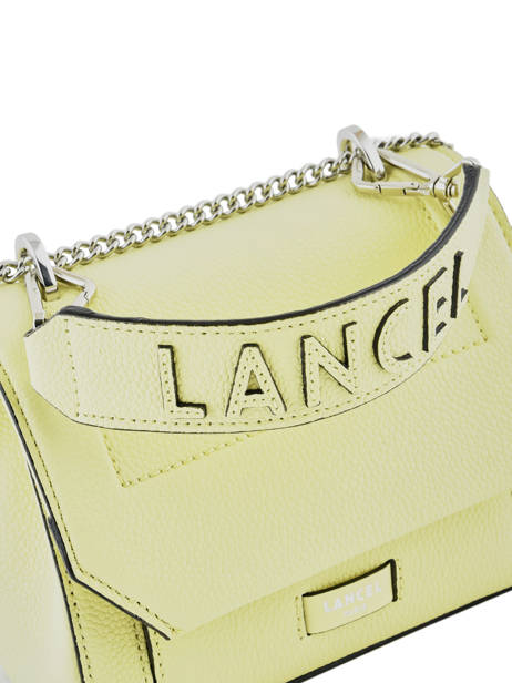 Top Handle S Ninon Leather Lancel Yellow ninon A09221 other view 1