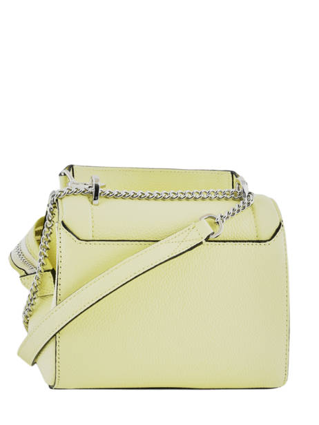 Top Handle S Ninon Leather Lancel Yellow ninon A09221 other view 3