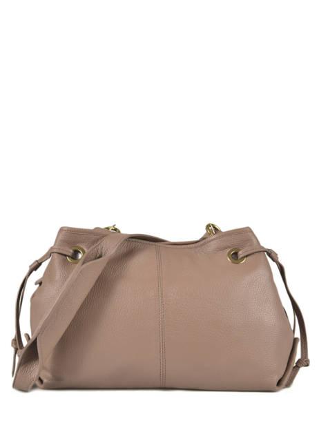 Leather Crossbody Bag Biarritz Gerard darel Black biarritz DMS06451