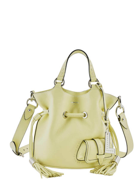 Small Tote Bag Premier Flirt Lancel Yellow premier flirt A10109