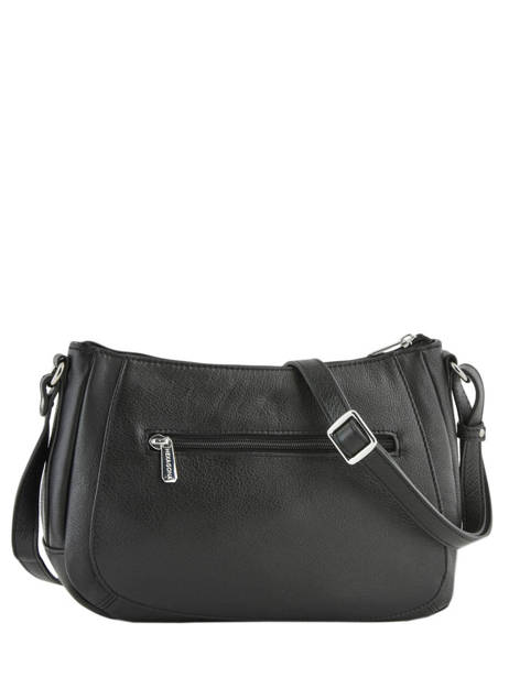 Crossbody Bag Confort Leather Hexagona Black confort 466743 other view 3