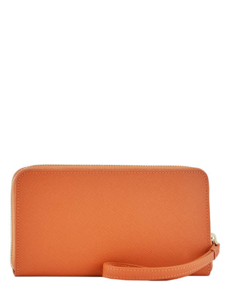 Wallet Leather Lancaster Orange signature 127-04 other view 2