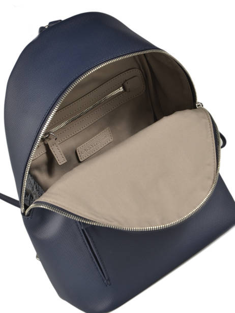 Backpack Lacoste Blue daily classic NF2773DC other view 4