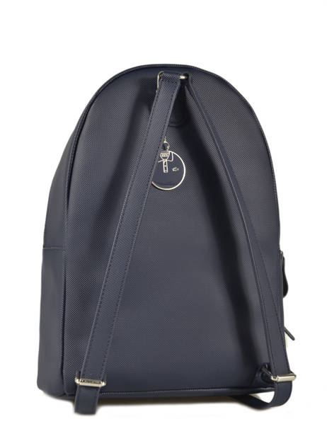 Backpack Lacoste Blue daily classic NF2773DC other view 3