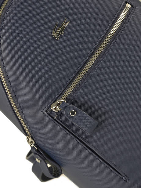 Backpack Lacoste Blue daily classic NF2773DC other view 1