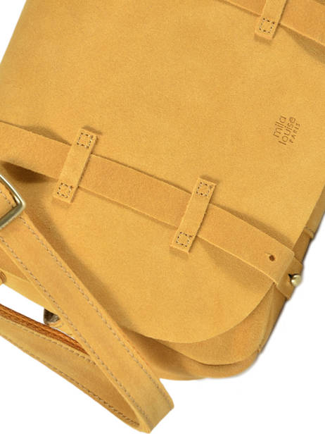 Crossbody Bag Vintage Vintage Mila louise Yellow vintage 3017V other view 1