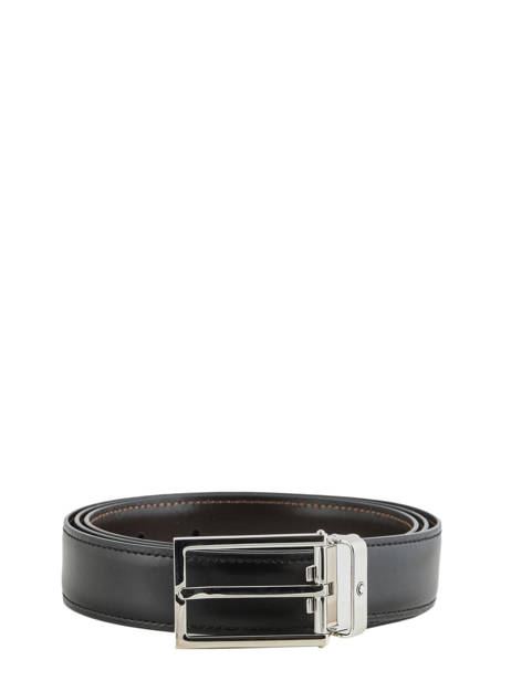 Belt Adjustable Montblanc Black belts 113273