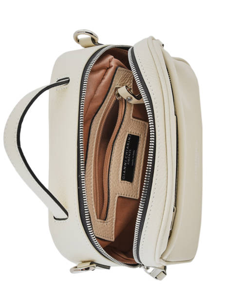 Sac Bandoulière Rally Cuir Gianni chiarini Beige rally BS7760 vue secondaire 4