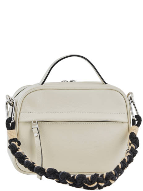 Sac Bandoulière Rally Cuir Gianni chiarini Beige rally BS7760 vue secondaire 3