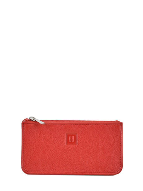 Key Holder Leather Hexagona Red confort 461039