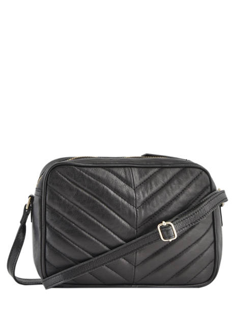 Crossbody Bag Ana Leather Pieces Black ana 17102833 other view 3