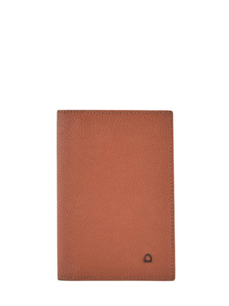 Leather Document Holder Madras Etrier Brown madras EMAD429
