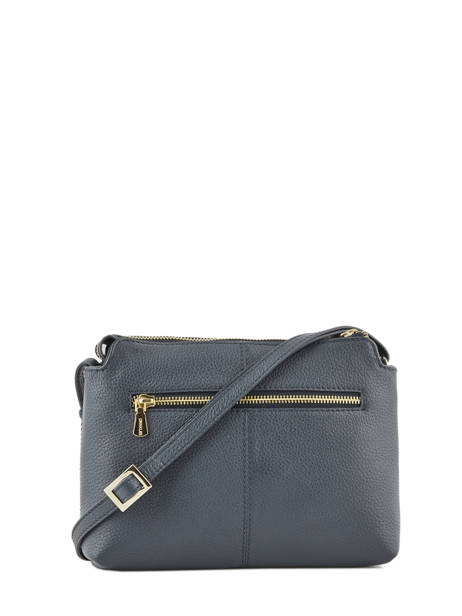 Crossbody Bag Leather Crinkles Blue 80897 other view 3