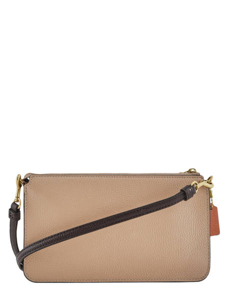 Leather Crossbody Bag Noa Coach Brown noa 31864 other view 3