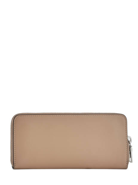 Portefeuille Cuir Coach Marron wallet 73738 vue secondaire 2