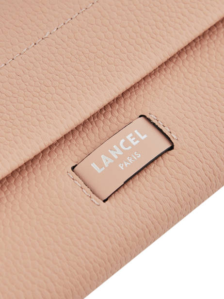 Slim Leather Wallet Ninon Lancel Pink ninon A09986 other view 1