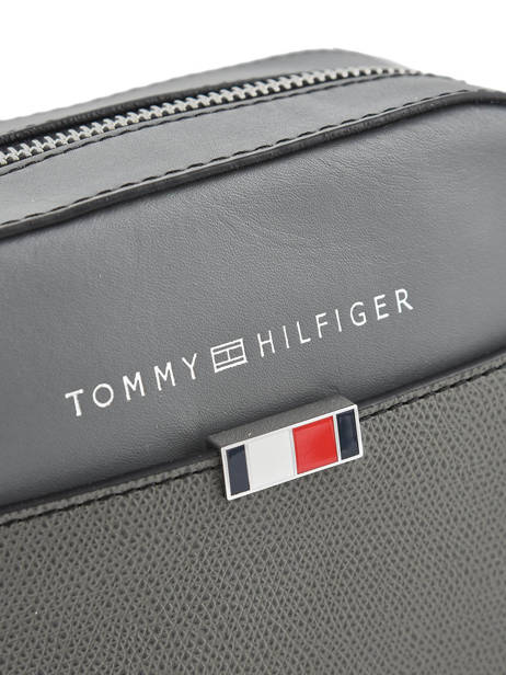 Leather Crossbody Bag Th Essential Tommy hilfiger Black business AM05783 other view 1