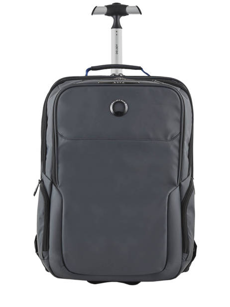Backpack On Wheels Parvis 2 Compartments Delsey Black parvis + 3944659