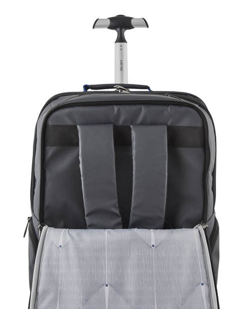 Backpack On Wheels Parvis 2 Compartments Delsey Black parvis + 3944659 other view 6