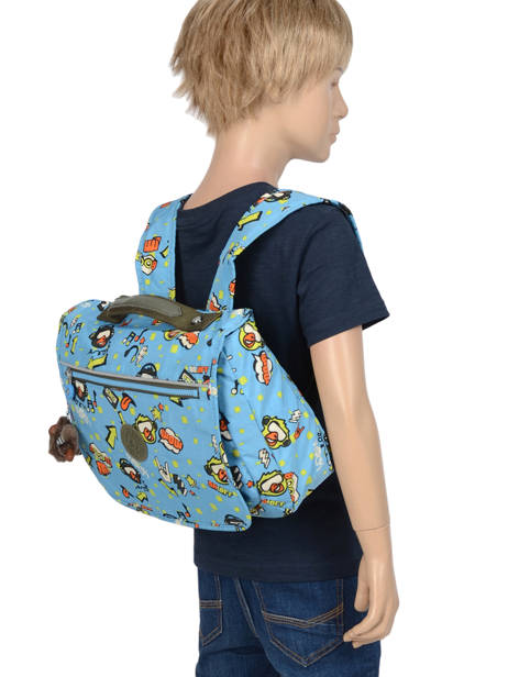 Cartable 1 Compartiment Kipling Bleu back to school 13571 vue secondaire 2