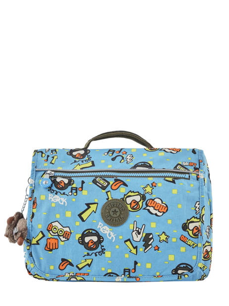 Cartable 1 Compartiment Kipling Bleu back to school 13571