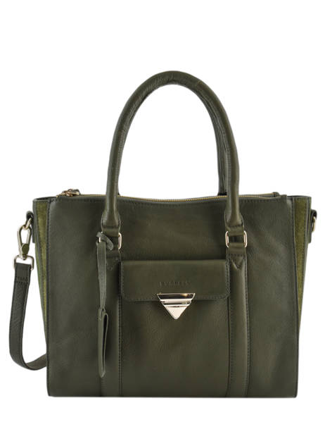 Sac Trapèze Secret Sage Cuir Burkely Vert secret sage 550160