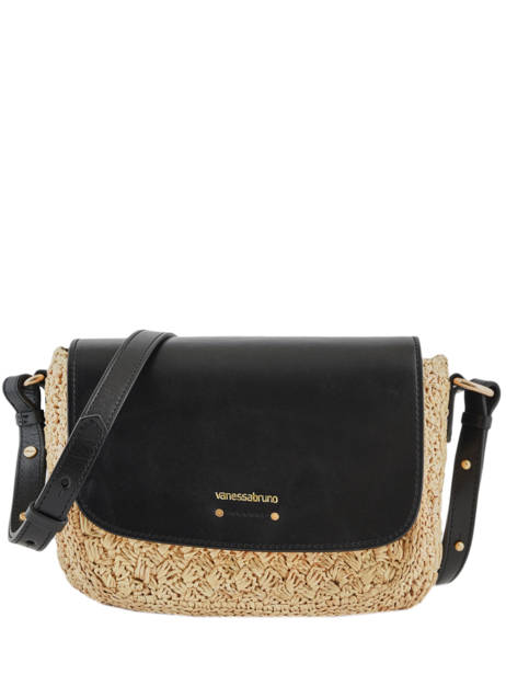 Raffia Shoulder Bag Holly Vanessa bruno Brown holly 67V40575