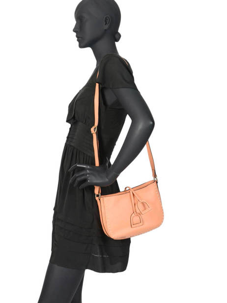 Crossbody Bag Tradition Leather Etrier Orange tradition EHER3A other view 2