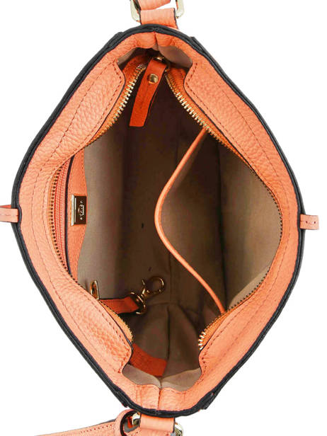 Crossbody Bag Tradition Leather Etrier Orange tradition EHER3A other view 4