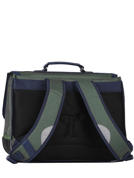 Satchel 2 Compartments Tann's Green fantaisie garcon 38236 other view 4