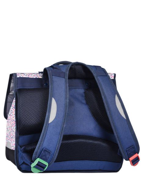 Schoolbag 2 Compartments Kickers Pink premium 671680 other view 4