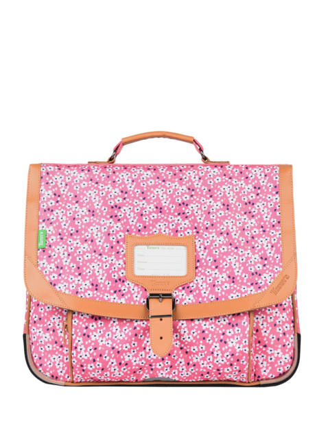 Satchel 2 Compartments Tann's Pink fantaisie fille 38263