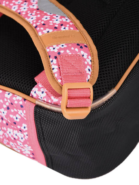 Satchel 2 Compartments Tann's Pink fantaisie fille 38263 other view 2
