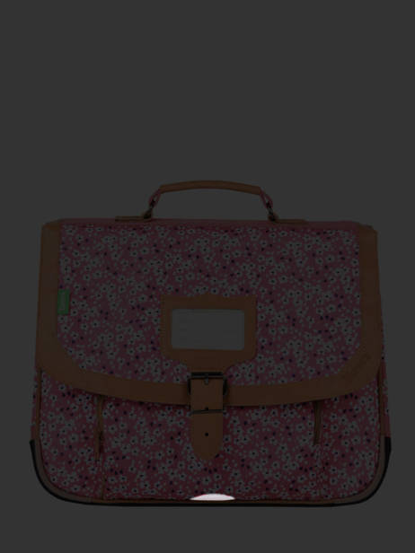 Satchel 2 Compartments Tann's Pink fantaisie fille 38263 other view 6
